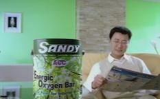 活力氧吧健康油漆广告