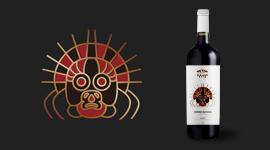 贺兰之麓岩画系列贺兰山葡萄酒包装fun88乐天使备用