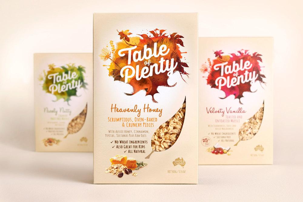 Plenty 燕麦有机食品包装设计欣赏——上海包装设计公司——全家福