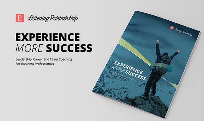 Listening 体育拓展训练公司宣传册画册设计-尚略上海画册设计公司设计佳作-画册封面设计