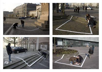 """jeep""""专用停车位""""户外创意广告-尚略上海广告设计公司图片"""