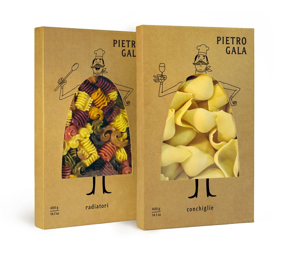意大利面食品牌Pietro Gala包装设计1