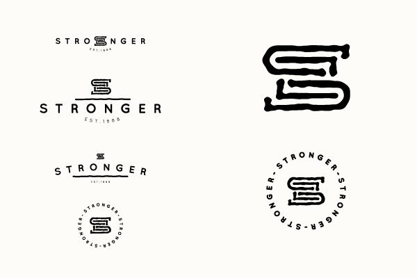 黑色标志设计欣赏7-尚略广告标志设计公司