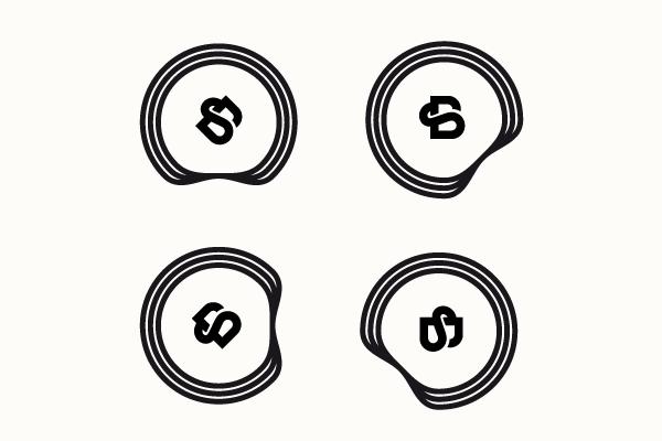 黑色标志设计欣赏9-尚略广告标志设计公司