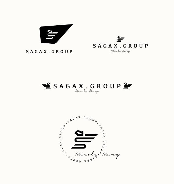 黑色标志设计欣赏12-尚略广告标志设计公司