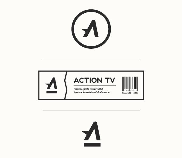 字母A黑色标志设计欣赏17-尚略广告标志设计公司