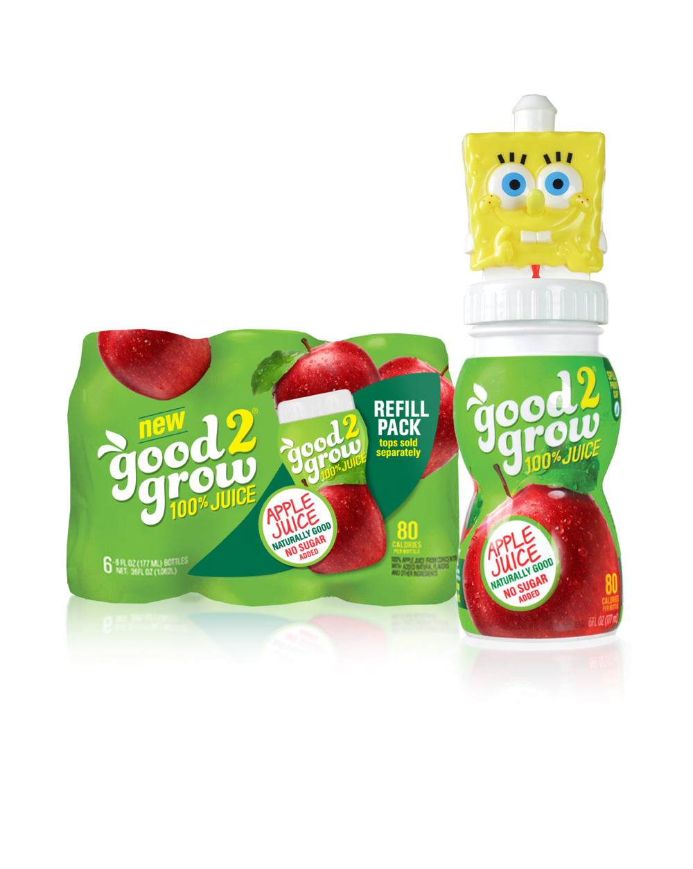 3.1.上海包装设计公司Good 2 Grow 好2代儿童果汁标志包装设计3-尚略广告