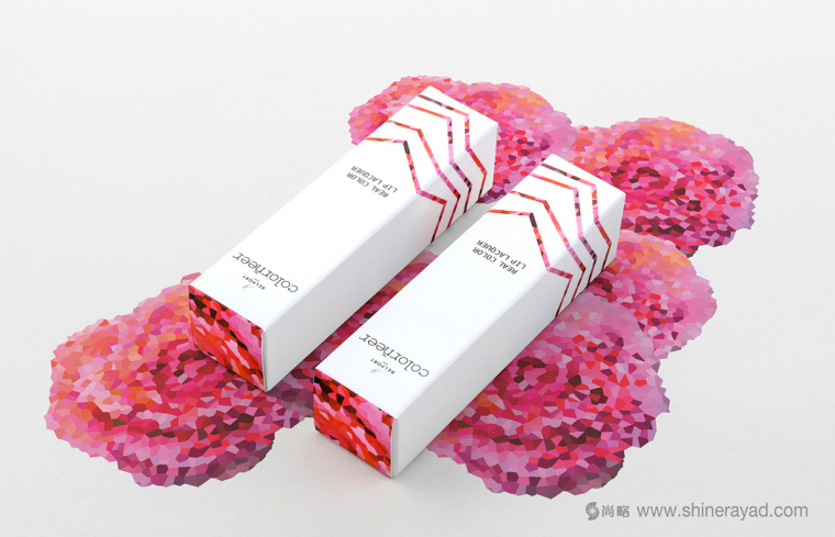 Colorneer 彩妆品牌玫瑰花瓣化妆品包装设计规范-上海包装设计公司设计欣赏1
