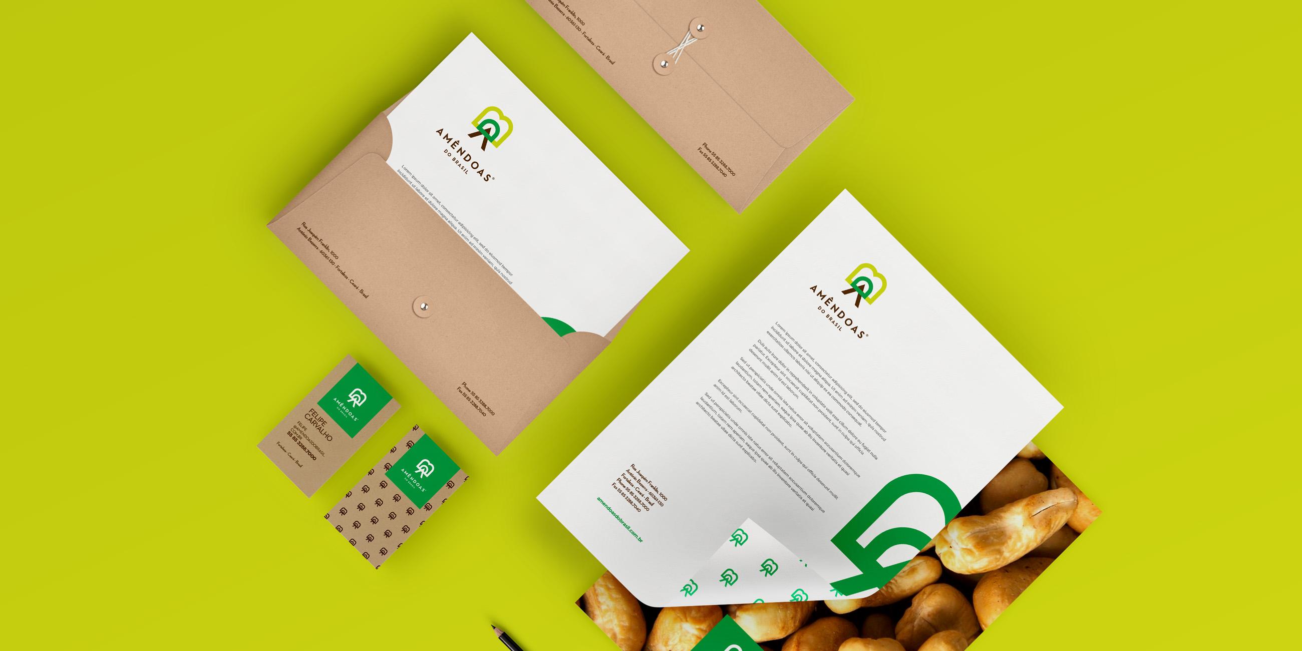 上海品牌策划设计公司分享Amêndoas 农产品品牌形象设计1