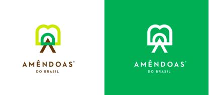 上海品牌策划设计公司分享Amêndoas 农产品品牌形象设计标志设计3
