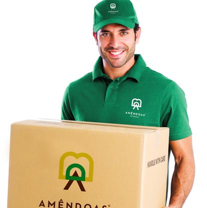 上海品牌策划设计公司分享Amêndoas 农产品品牌形象设计-送货员工形象设计
