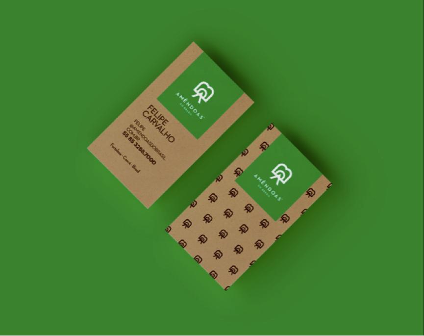 上海品牌策划设计公司分享Amêndoas 农产品品牌包装设计