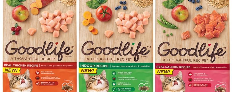 Goodlife 猫粮包装设计-上海包装设计公司国外包装设计欣赏3