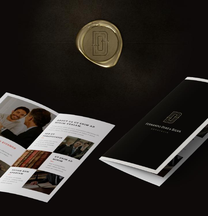 上海标志设计公司分享Dias & Silva 律师事务所公司标志设计企业VI形象设计7