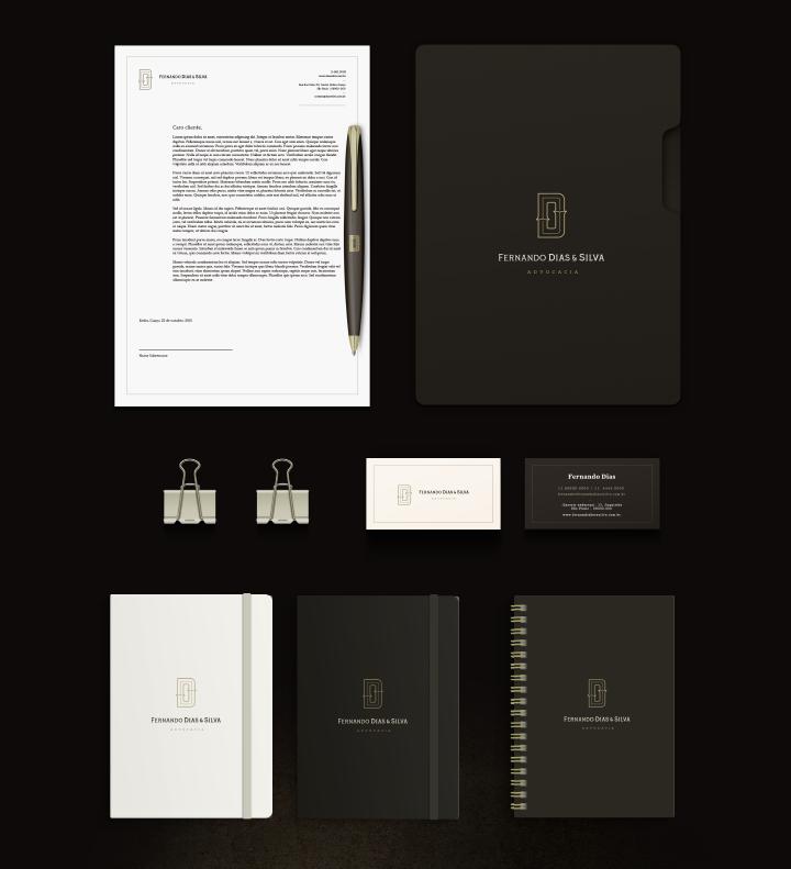 上海标志设计公司分享Dias & Silva 律师事务所公司标志设计企业VI形象设计6