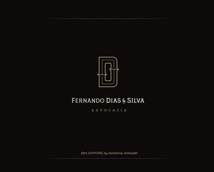 上海标志设计公司分享Dias & Silva 律师事务所公司标志设计企业VI形象设计3