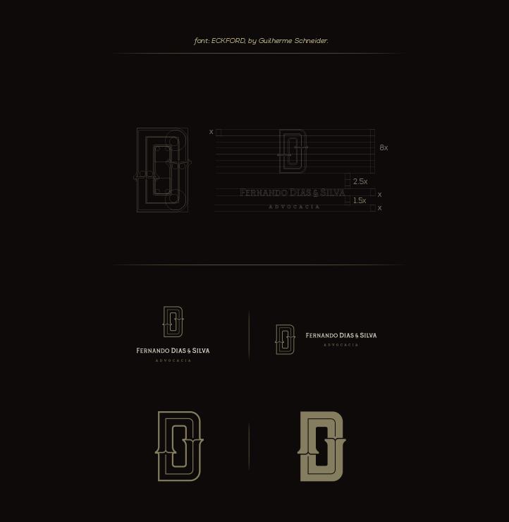 上海标志设计公司分享Dias & Silva 律师事务所公司标志设计企业VI形象设计4