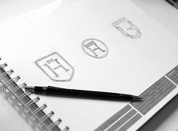 上海品牌策划设计公司分享:Hugo律师事务所标志设计品牌形象设计2