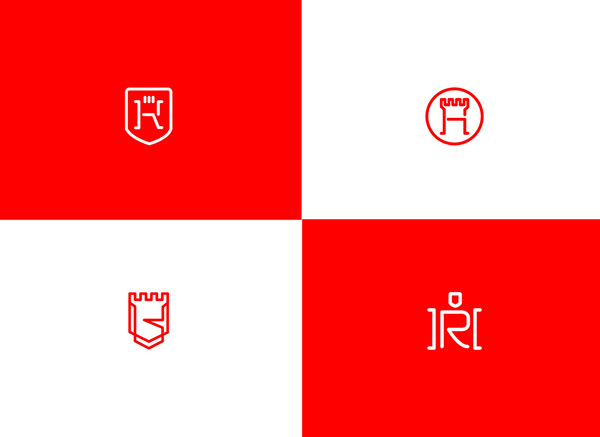 上海品牌策划设计公司分享:Hugo律师事务所标志设计品牌形象设计3