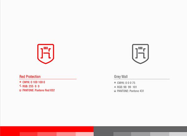 上海品牌策划设计公司分享:Hugo律师事务所标志设计品牌形象设计8