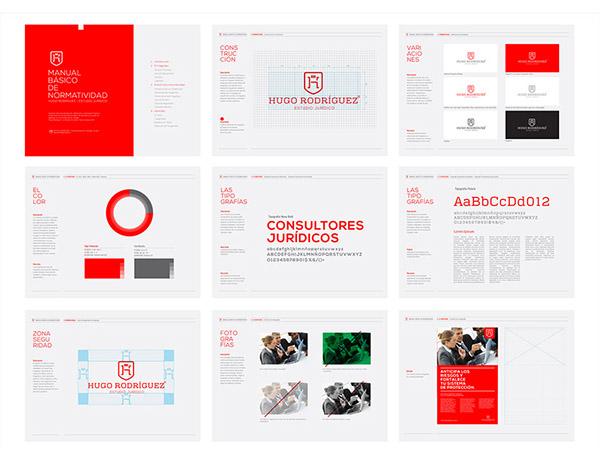 上海品牌策划设计公司分享:Hugo律师事务所标志设计品牌形象设计13