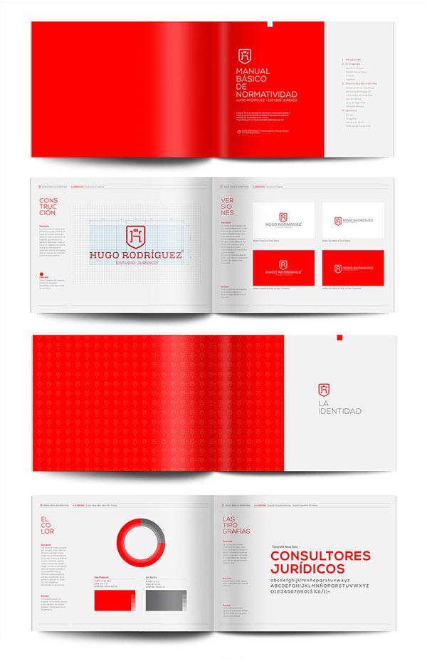 上海品牌策划设计公司分享:Hugo律师事务所标志设计品牌形象设计14