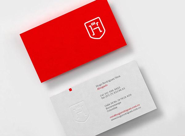 上海品牌策划设计公司分享:Hugo律师事务所标志设计品牌形象设计15