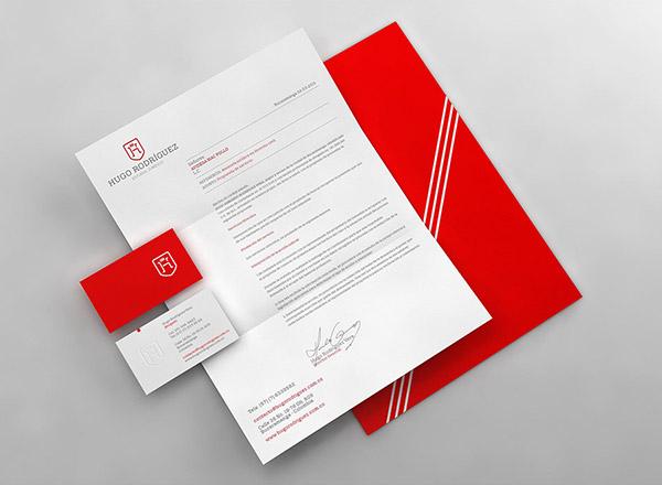 上海品牌策划设计公司分享:Hugo律师事务所标志设计品牌形象设计16