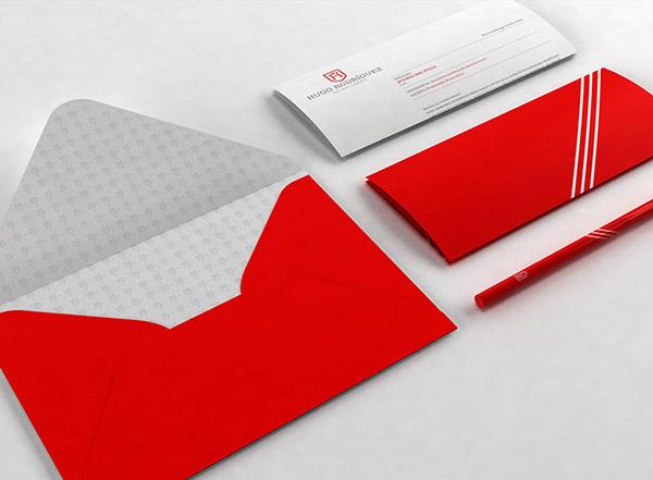 上海品牌策划设计公司分享:Hugo律师事务所标志设计品牌形象设计17