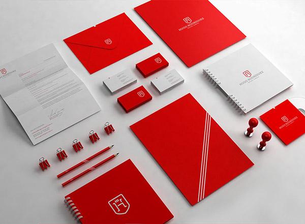 上海品牌策划设计公司分享:Hugo律师事务所标志设计品牌形象设计18