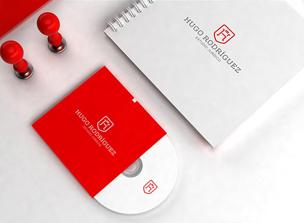 上海品牌策划设计公司分享:Hugo律师事务所标志设计品牌形象设计19