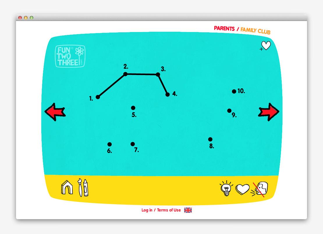 FunTwoThree 儿童网站设计与平面设计-上海平面设计公司设计推荐4