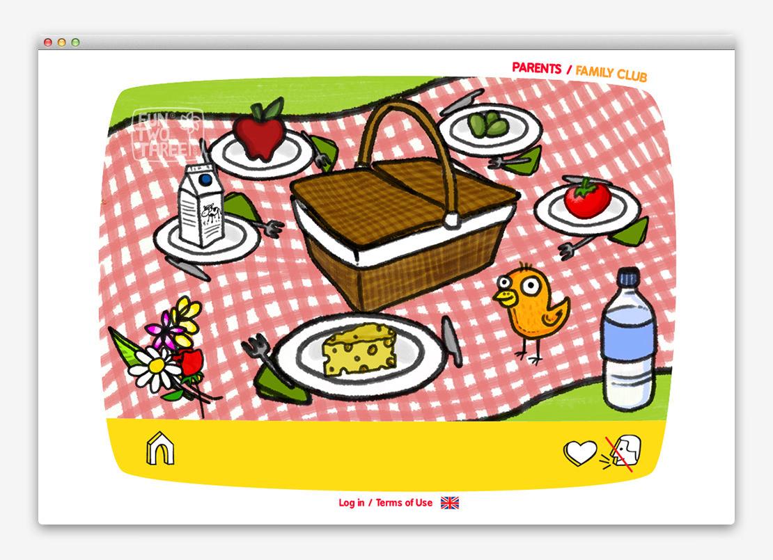 FunTwoThree 儿童网站设计与平面设计-上海平面设计公司设计推荐6