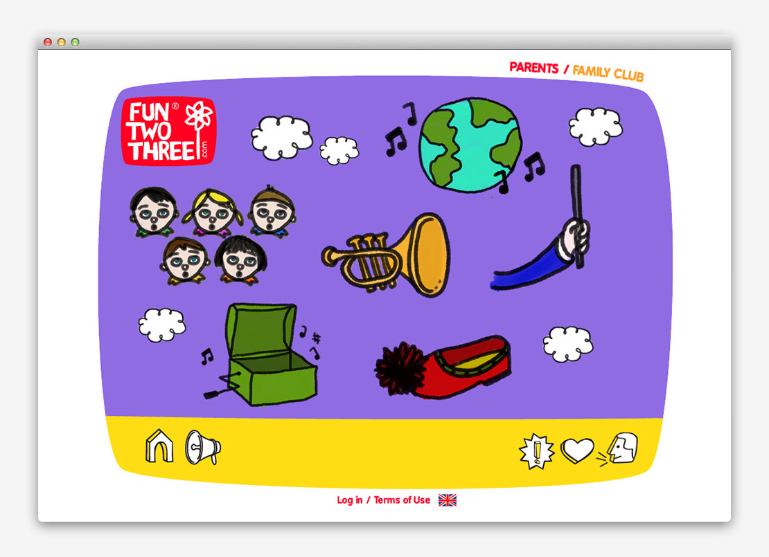 FunTwoThree 儿童网站设计与平面设计-上海平面设计公司设计推荐8