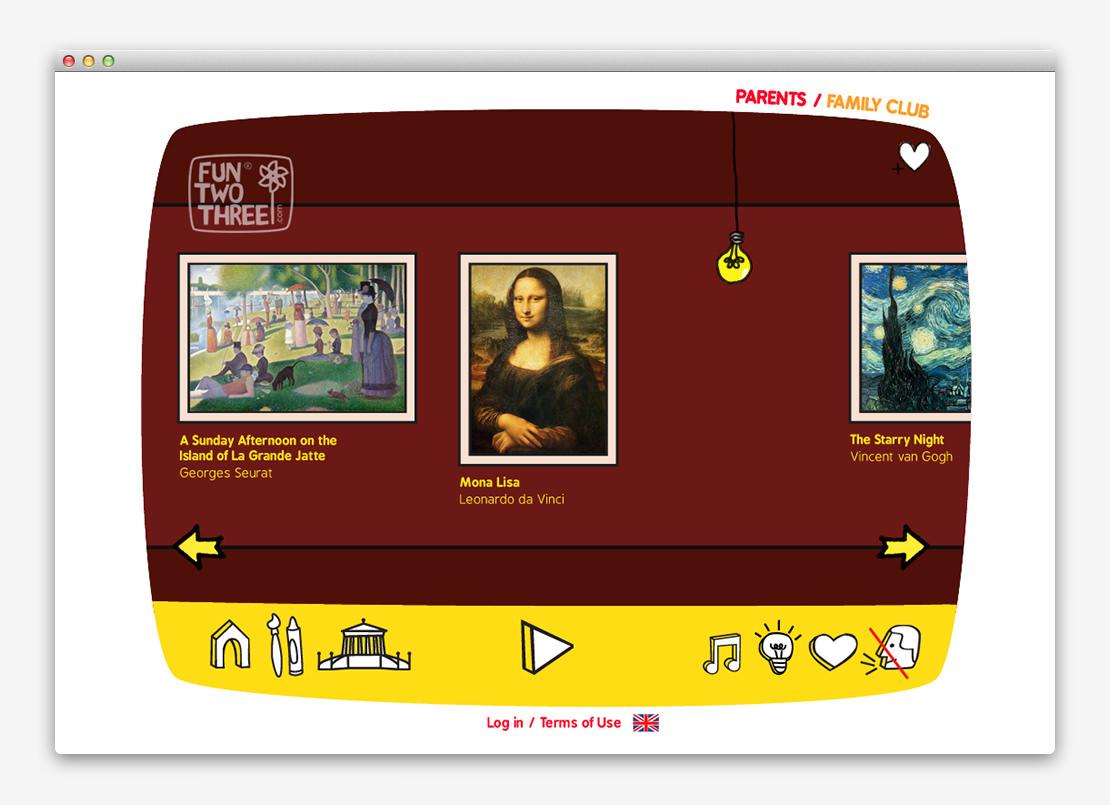 FunTwoThree 儿童网站设计与平面设计-上海平面设计公司设计推荐9
