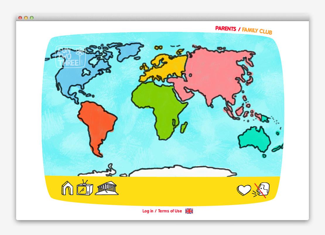 FunTwoThree 儿童网站设计与平面设计-上海平面设计公司设计推荐10