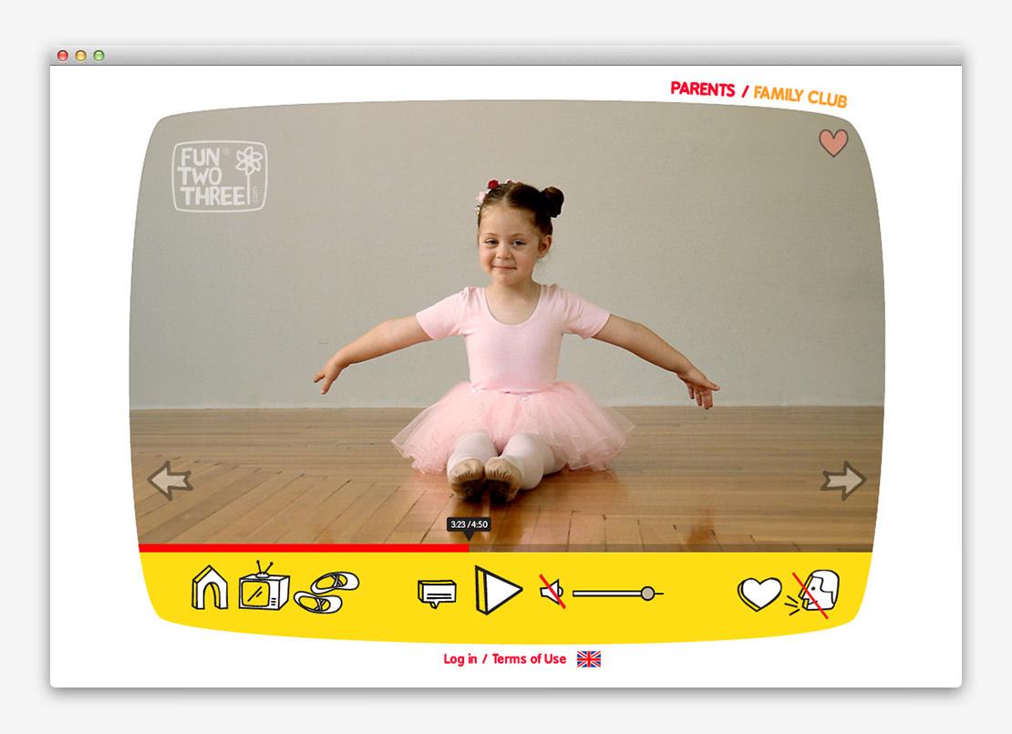 FunTwoThree 儿童网站设计与平面设计-上海平面设计公司设计推荐7