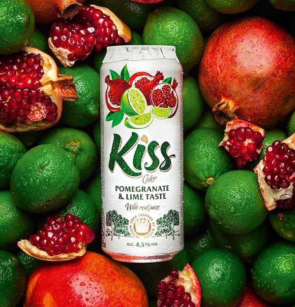 上海包装设计公司设计推荐:Kiss Cider 果酒包装设计6