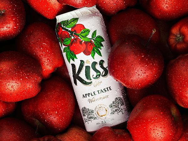 上海包装设计公司设计推荐:Kiss Cider 果酒包装设计0
