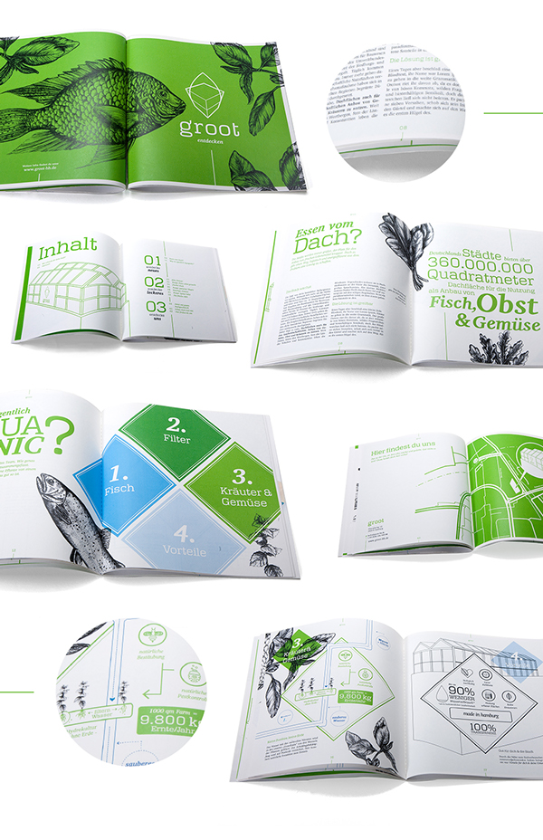 groot 有机农场品牌形象设计4-宣传物料设计-画册设计