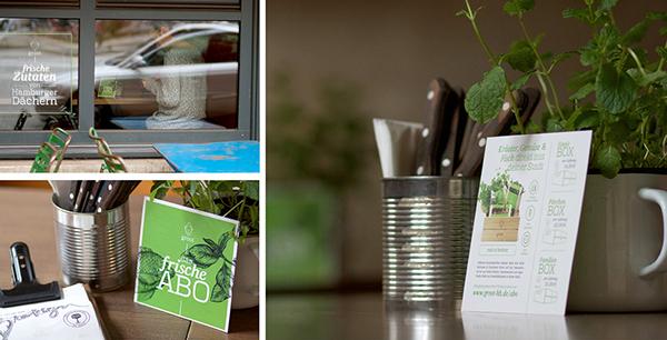 groot 有机农场品牌形象设计-宣传物料设计
