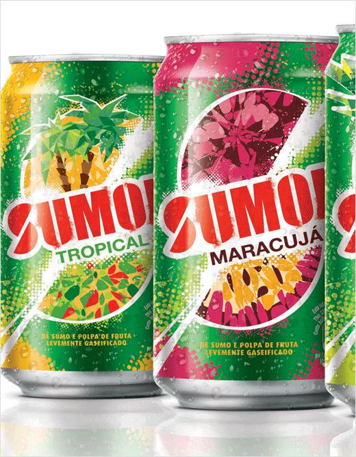 sumol软饮料果汁碳酸饮料标志设计包装设计-上海品牌设计公司设计欣赏3