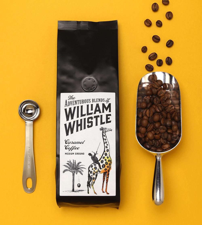 William Whistle 茶叶和咖啡品牌包装设计3