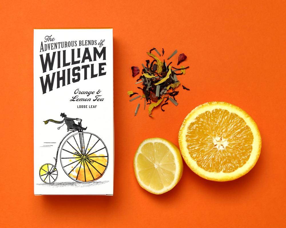 William Whistle 茶叶和咖啡品牌包装设计4