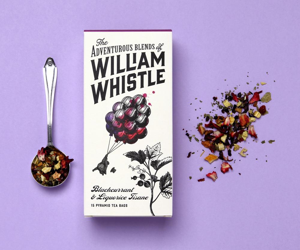 William Whistle 茶叶和咖啡品牌包装设计6