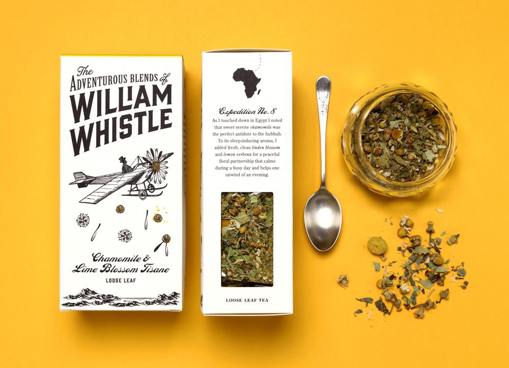 William Whistle 茶叶和咖啡品牌包装设计7