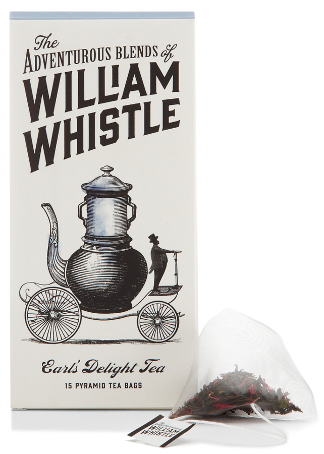 William Whistle 茶叶和咖啡品牌包装设计13