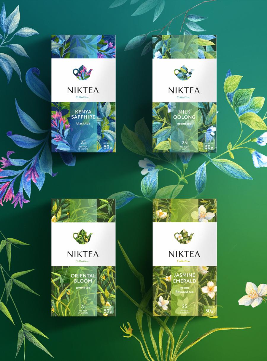 Niktea 茶叶品牌设计包装设计-上海品牌策划设计公司设计欣赏4