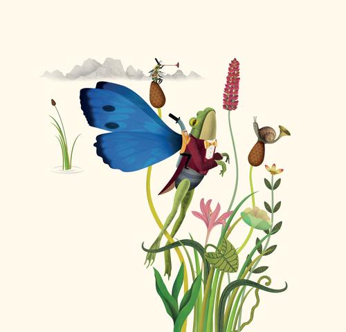 2.农夫山泉矿泉水包装设计之长白山春季插图
