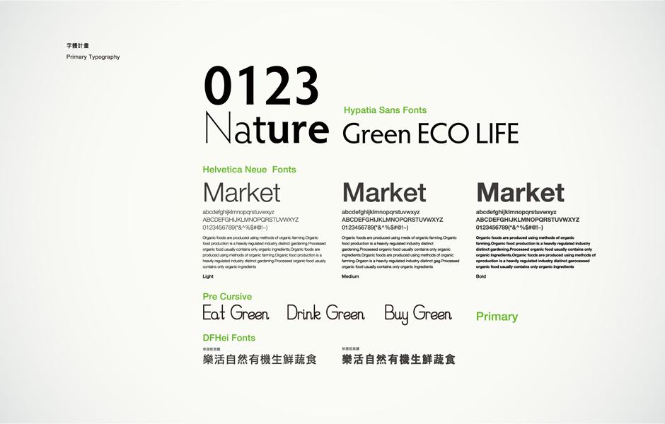 绿之巣有机农场有机农产品商店LOGO设计-标志字体设计14